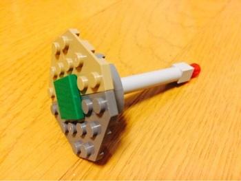 レゴでお医者さんごっこ 聴診器